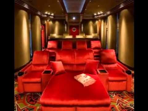 Movie room design decor ideas