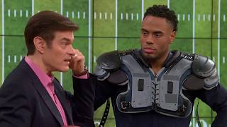 Dr. Oz's and Rashad Jennings on the Benefits of Omega 3s.
