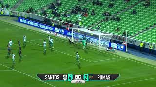 Santos 4-2 Pumas | Copa MX | Octavos de final ida