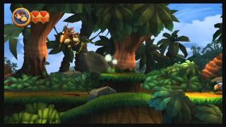 Donkey Kong Country Returns - Wii U Virtual Console Gameplay [ 60fps]