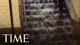 NYC Subway Stations Are Leaking And Flooding | TIME