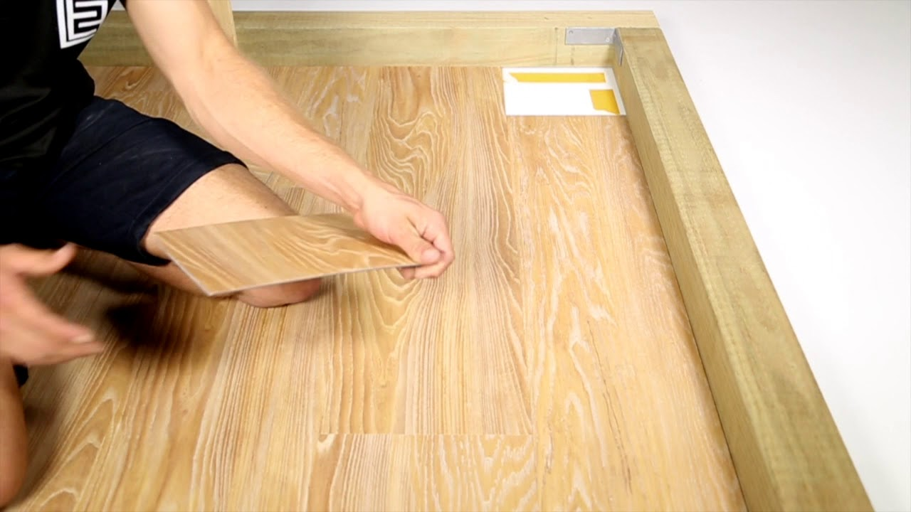 How To Finish Installing Loose Lay Vinyl Planks By Evolved Floors