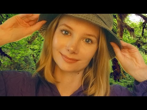 💗 ASMR for Charity 💗 Ear to Ear Whispered Rainforest Facts with Rain Sounds