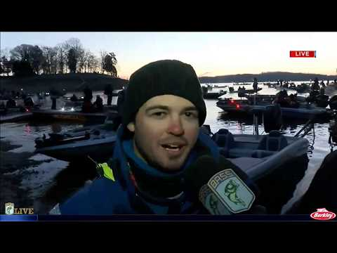 Bassmaster Live: 2017 Cherokee Lake Friday, part 1