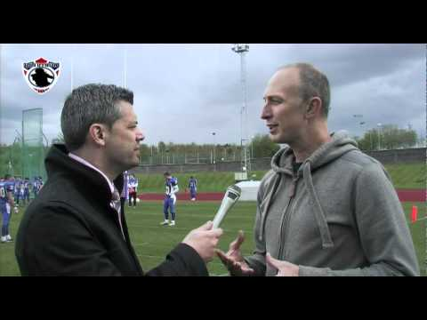 BUAFL Finals - Neil Reynolds Pre Game
