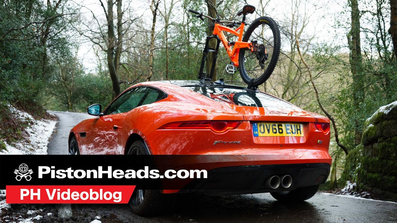 Sea Sucker Talon Bike Rack Versus Jaguar F Type Ph