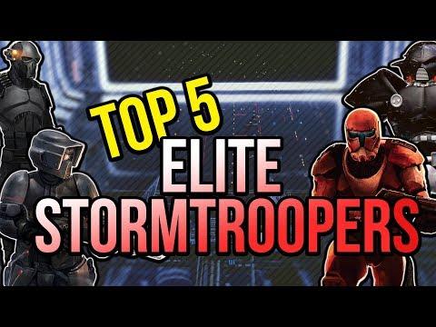 5 Most Elite Storm Trooper Units EVER | Star Wars Legends Top 5