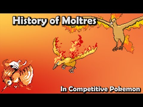 How GOOD was Moltres ACTUALLY? - History of Moltres in Competitive Pokemon (Gens 1-6)