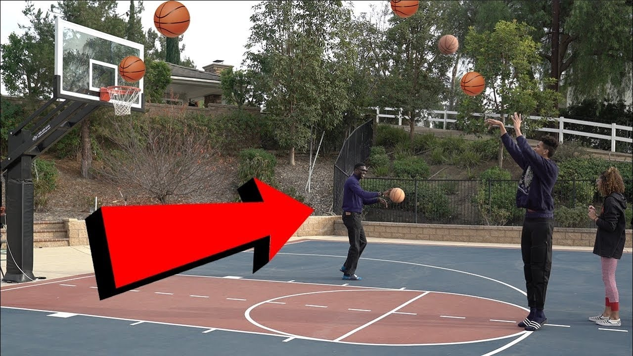 outdoor basketball with the family is my dad better than me youtube