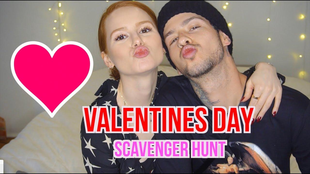 Valentine's Day Scavenger Hunt | Madelaine Petsch
