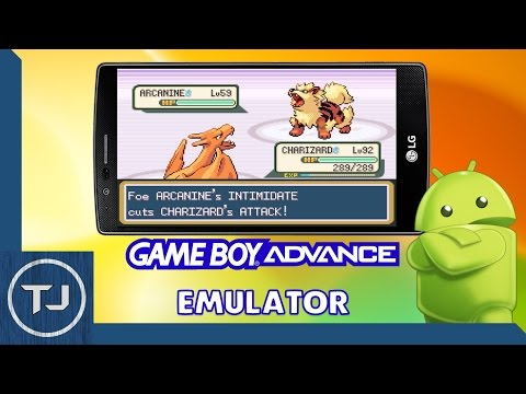 GameBoy Advance Emulator For Android! (2017)