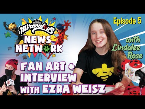 MIRACULOUS NEWS NETWORK   🐞 NEW EPISODE with Lindalee Rose 🎙  News, interviews, fan arts & more!