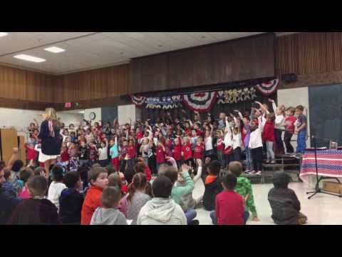 Tangier Smith Elementary School Veterans Day concert