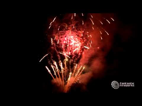 Wedding Fireworks with Music by Take That, presented by Fantastic Fireworks