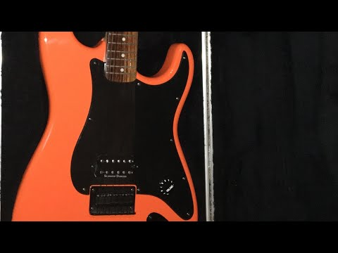 Squier Metal Mod (Rare Orange Bullet Special by Fender)