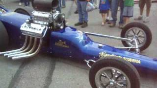 Nastalgic Syndicate Scuderia Blown Gas Dragster Drive By Arlington Washington 2008