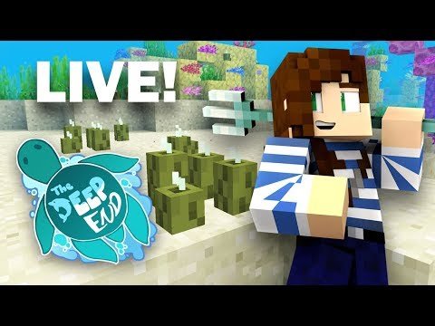 Pickle Party!  | The Deep End Minecraft SMP - LIVE NOW