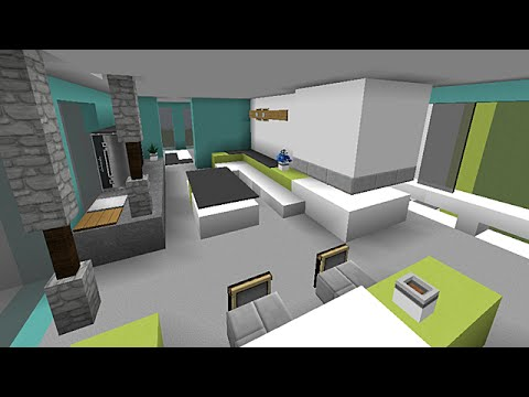 Minecraft d co int rieur 1 3 youtube for Interieur de maison deco