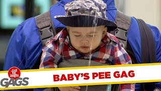 Baby Pees on Strangers
