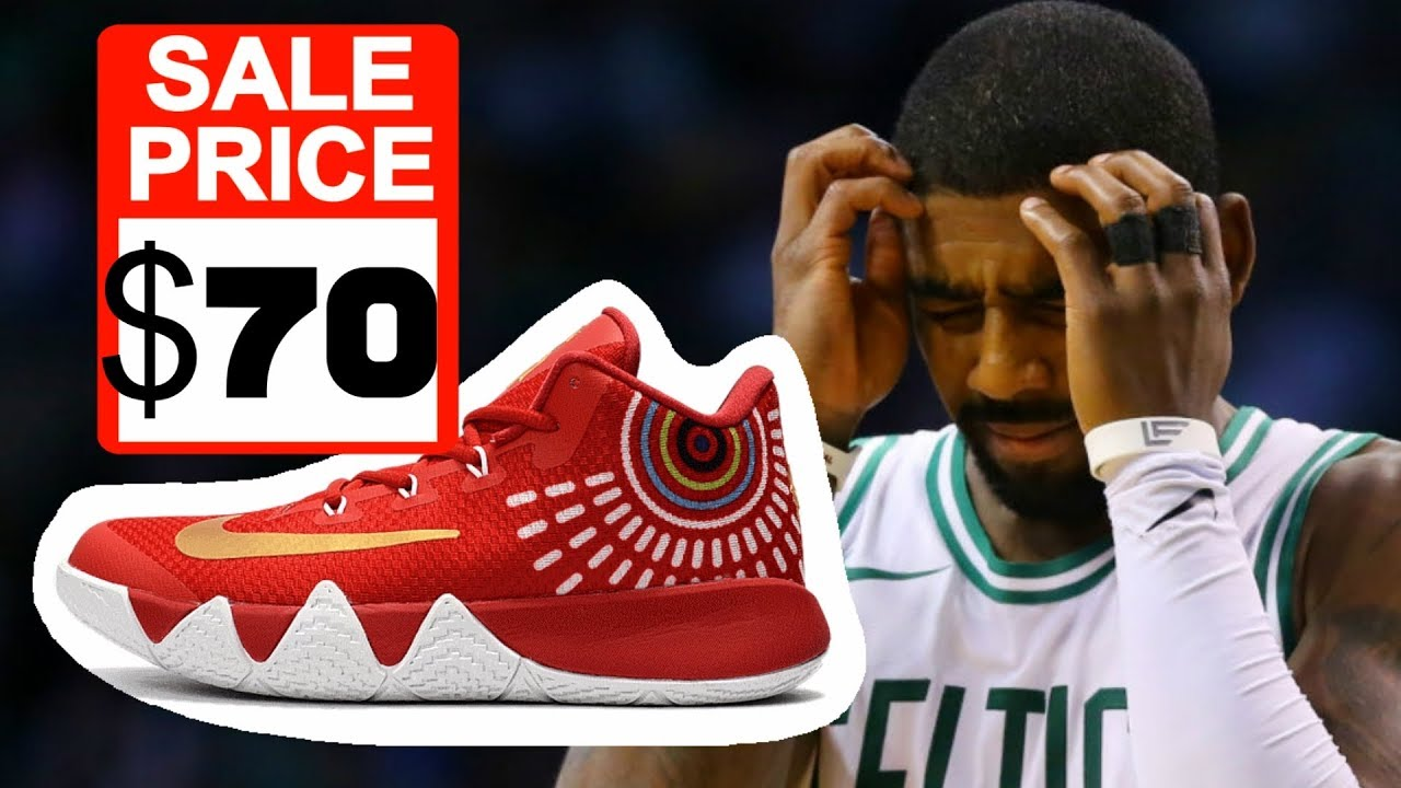 9455f2aa9440 New  70 Kyrie irving Signature Basketball Shoes For 2018  - YouTube