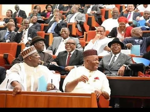 See How Much Nigerian Senators Earn Every Month