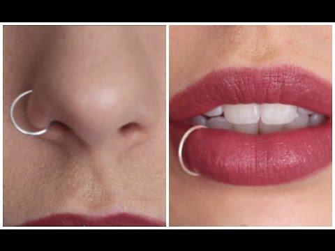 DIY Fake Nose/Lip Ring