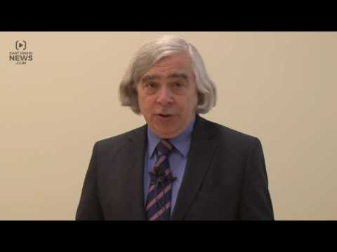 U.S. Secretary of Energy Ernest Moniz visits Idaho Falls