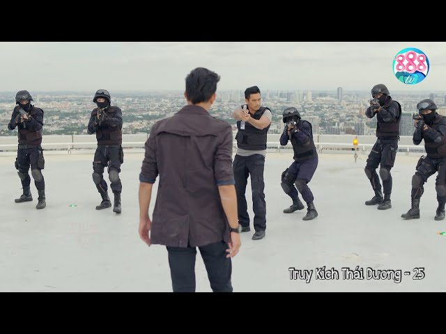 Ông Trùm Bangkok Thuê Sát Thủ Trực Thăng Trên Không Đấu Đội Cảnh Sát Cơ Động Trên Sân Thượng   888TV