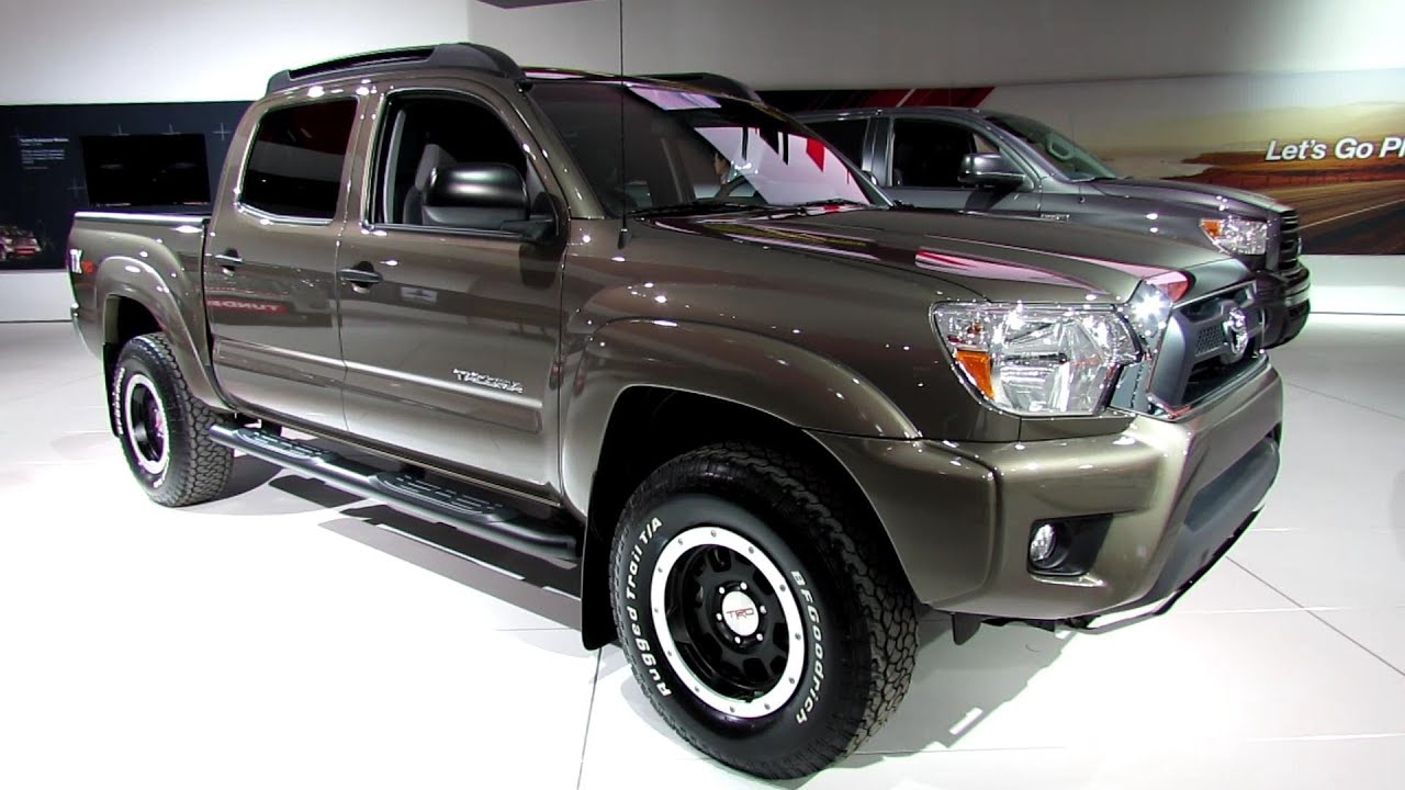 2013 toyota tacoma v6 tx trd double cab walkaround 2013 detroit. Black Bedroom Furniture Sets. Home Design Ideas