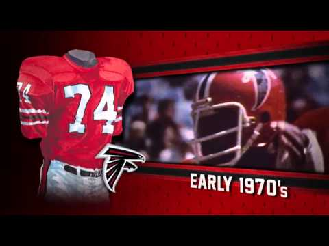 053bb664 Atlanta Falcons uniform and uniform color history - YouTube