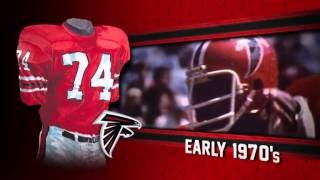 Atlanta Falcons uniform and uniform color history