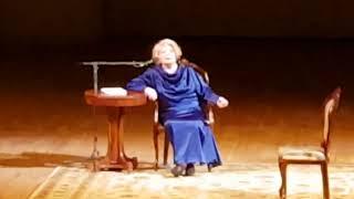 """Татьяна Доронина читает стихотворение С. Есенина """"Песнь собаке"""""""