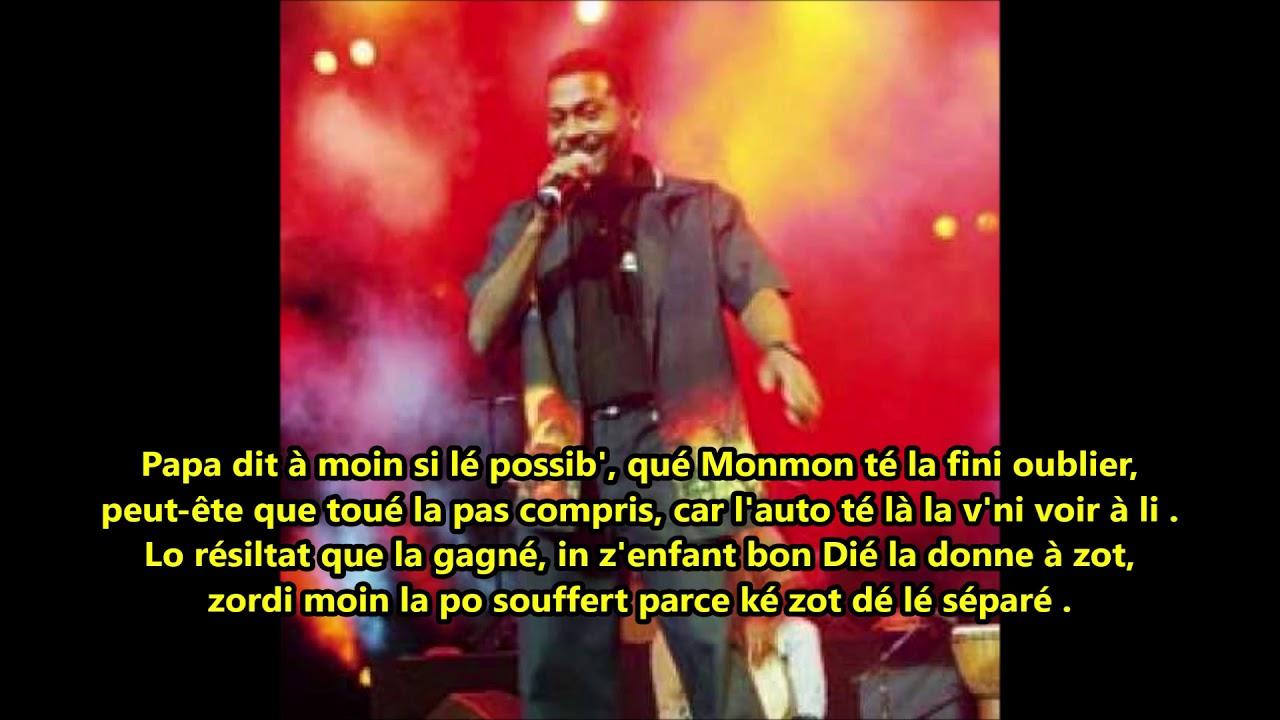 Download Manyan - Z'enfant bâtard - Paroles