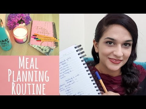 Weekly Meal Planning Routine – Pakistani Indian Recipes Ideas, Tips and Tricks