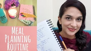 Weekly Meal Planning Routine - Pakistani Indian Recipes Ideas, Tips and Tricks