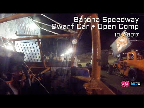 Barona Speedway Dwarf Car Open Division 10-21-2017 as seen by #99's GoPro