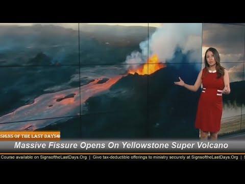 Massive Fissure Opens On Yellowstone Super Volcano!
