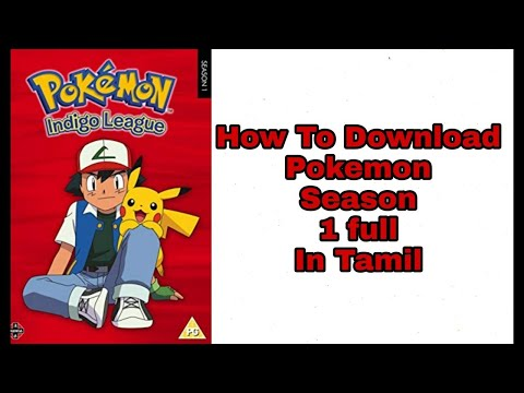 How To Download Pokemon Movie In Tamil Youtube