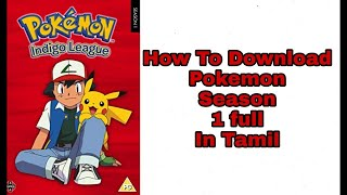how to download pokemon movie in tamil