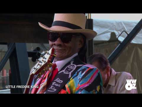 Little Freddie King: full set from the 2018 Crescent City Blues & BBQ Festival Mp3