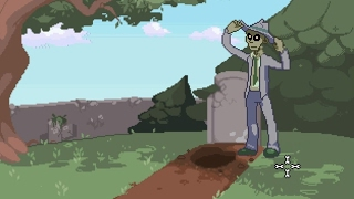 Зомби-общество: Детектив-мертвец (Zombie Society: Dead Detective) // Трейлер