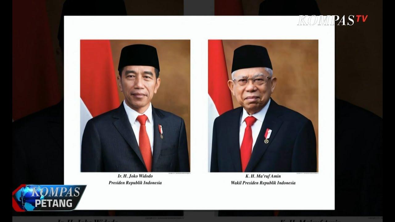 Istana Rilis Foto Resmi Presiden Dan Wapres Terpilih 2019 2024 Youtube
