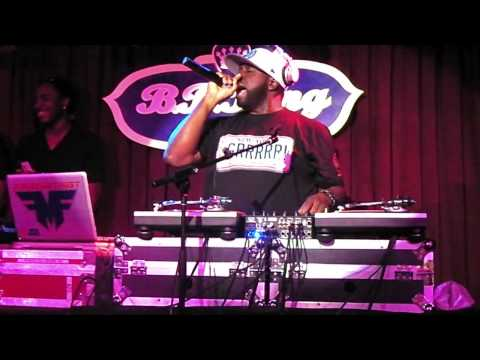FUNKMASTER FLEX LIVE AT B.B. KINGS IN NEW YORK CITY PART 1