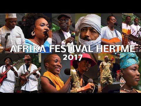 AFRIKA FESTIVAL HERTME 2017 - ONE song OF EACH artist