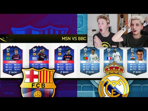 MSN VS BBC FIFA 16 FUT DRAFT VS CAL!!!