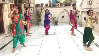 Dance By Kids On : DIL TERA KAALA SONG || Diljit Dosanjh || Simple Choreography