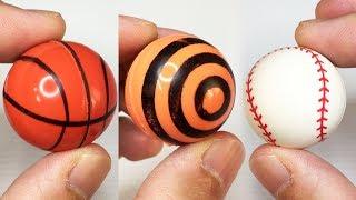Basketball and Baseball Bouncy Balls Vending Machine
