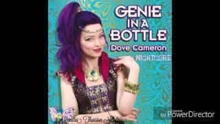dove cameron genie in a bottle nightcore