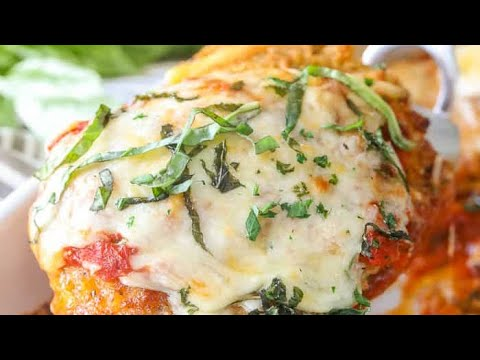 Air Fryer Recipe Halal Chicken Parmesan Youtube