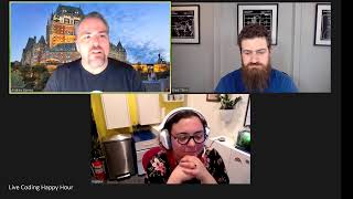 Building a Portal with UI Builder in Quebec - Live Coding Happy Hour for 2021-01-22